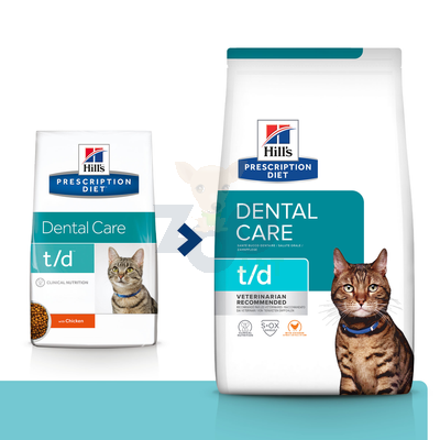 HILL'S PD Prescription Diet Feline t/d 5kg