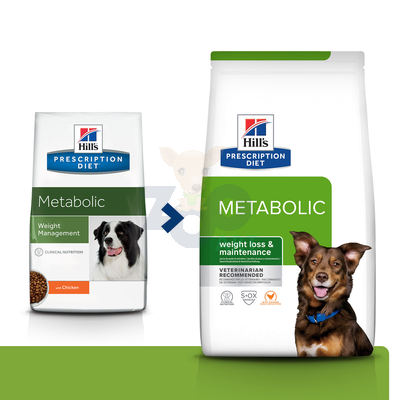 HILL'S PD Prescription Diet Metabolic Canine 1,5kg