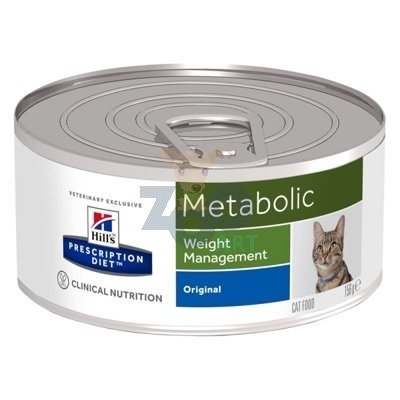 HILL'S PD Prescription Diet Metabolic Feline 6 x 156g puszka