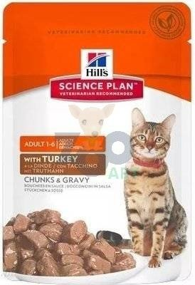 HILL'S SP Science Plan Feline Adult Indyk 85g saszetka