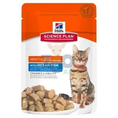 HILL'S SP Science Plan Feline Adult Ryba Oceaniczna 85g saszetka