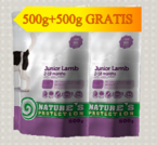 NATURES PROTECTION Junior Lamb 500+500G