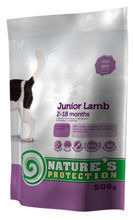 NATURES PROTECTION Junior Lamb 500g