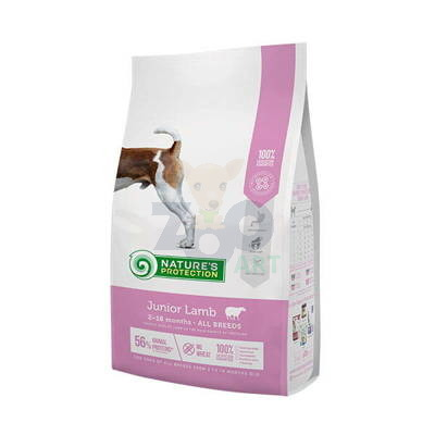 NATURES PROTECTION Junior Lamb 7,5kg