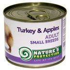 Nature's Protection Dog Adult Small Breeds Turkey & Apples 200g