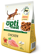 OPTI MEAL Chicken 300g z drobiem