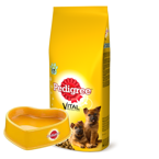 PEDIGREE Junior Duże Rasy Kurczak 15kg + Miska Pedigree GRATIS!