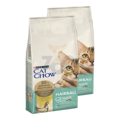 PURINA Cat Chow Special Care Hairball Control 2x15kg