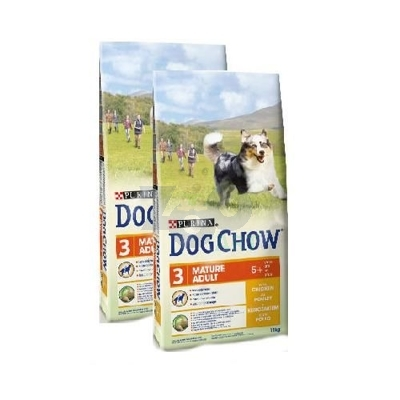 PURINA Dog Chow Mature Adult Chicken 2 x 14kg