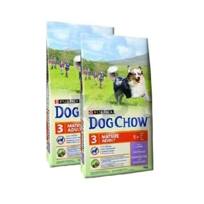 PURINA Dog Chow Mature Adult Lamb 2x14kg