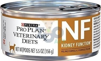 PURINA Veterinary PVD NF Renal Function Cat  24 x 195g puszka