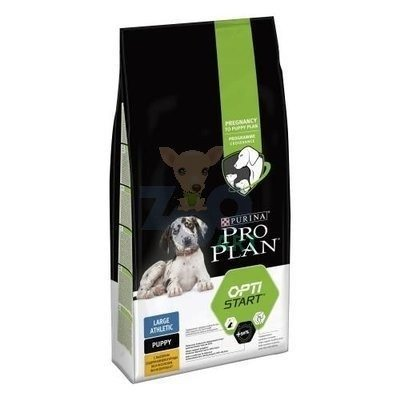 Purina Pro Plan Large Puppy Athletic Optistart, kurczak i ryż 12kg