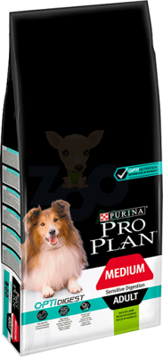 Purina Pro Plan Medium Adult  OPTI DIGEST Jagnięcina 3kg