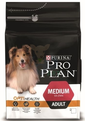 Purina Pro Plan Medium Adult Optihealth, kurczak i ryż 3kg