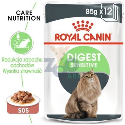 ROYAL CANIN Digest Sensitive 24x85g saszetka (Sos)