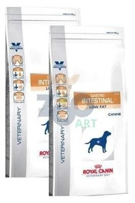 ROYAL CANIN Gastro Intestinal Low Fat LF22 2x12kg