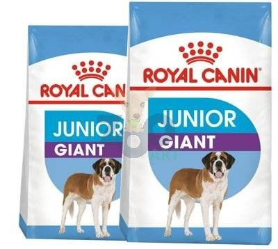 ROYAL CANIN Giant Junior 2x15kg +5x Kabanosy +5x Paszteciki