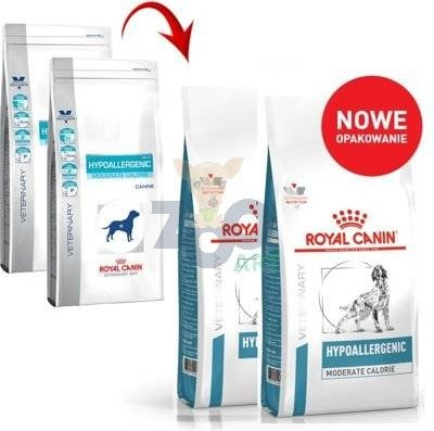 ROYAL CANIN Hypoallergenic Moderate Calorie HME23 2 x 14kg