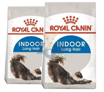 ROYAL CANIN Indoor Long Hair 2x10kg