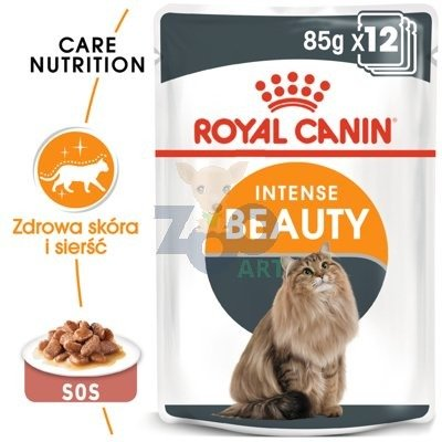 ROYAL CANIN Intense Beauty 12x85g saszetka (sos)