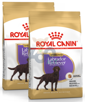 ROYAL CANIN Labrador Sterilised 2x12kg