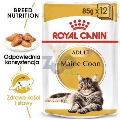 ROYAL CANIN Maine Coon Adult saszetka 24x85g (Sos)