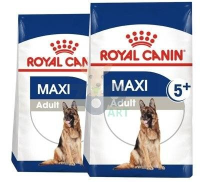 ROYAL CANIN Maxi Adult 5+ 2x15kg