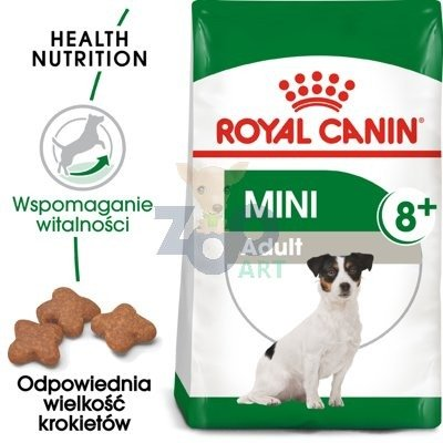 ROYAL CANIN Mini Adult +8 - 8kg