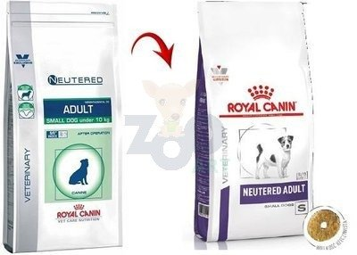 ROYAL CANIN Neutered Adult Small Dog Weight&Dental 1,5kg