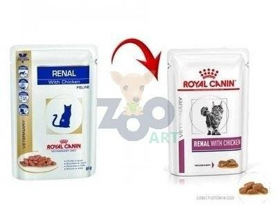 ROYAL CANIN Renal with Chicken 24x85g saszetka