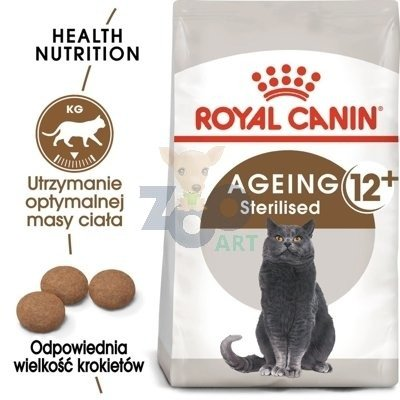 ROYAL CANIN Senior Ageing Sterilised +12 - 2kg