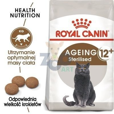 ROYAL CANIN Sterilised +12 - 4kg