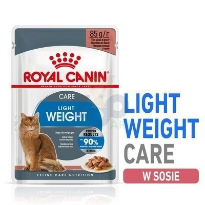 ROYAL CANIN Ultra Light 12x85g saszetka  (sos)