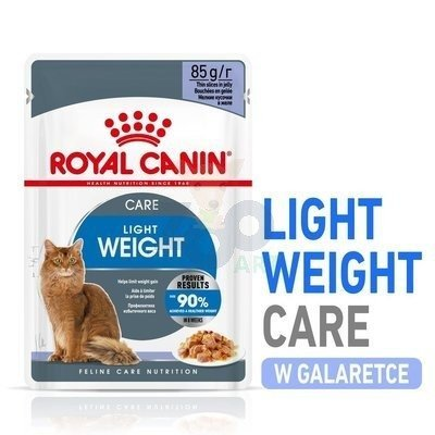 ROYAL CANIN Ultra Light w galaretce Feline 12x85 g saszetka
