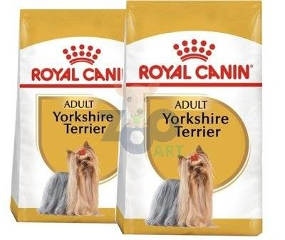 ROYAL CANIN Yorkshire Terrier Adult 2x7,5kg + 5x Paszteciki