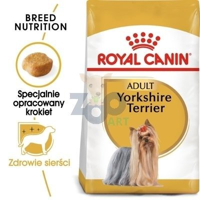 ROYAL CANIN Yorkshire Terrier Adult 7,5kg + 5x Paszteciki