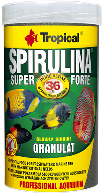 TROPICAL Super Spirulina Forte Granulat 250ml