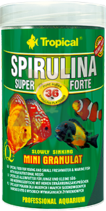 TROPICAL Super Spirulina Forte Mini Granulat 250ml