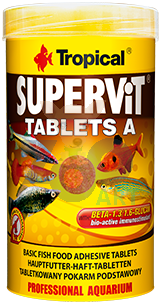 TROPICAL SuperVit Tablets A 250ml 340szt.