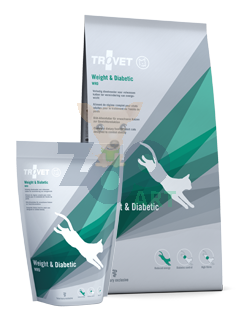 TROVET WRD Weight & Diabetic (dla kota) 500g