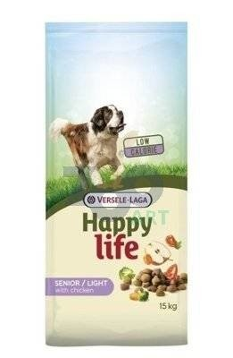 VERSELE-LAGA Happy Life Light Senior Chicken 15kg  + PRZESYŁKA GRATIS!!!