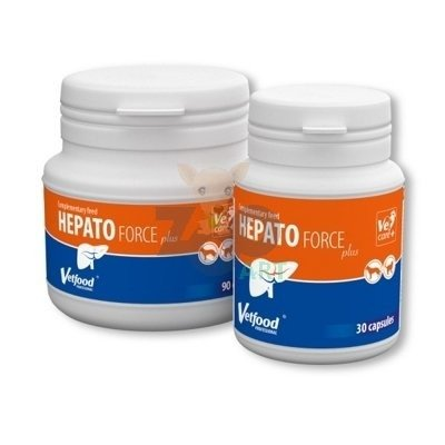 VETFOOD Hepatoforce 30kaps.