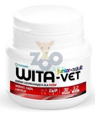 WITA-VET Ca/P = 2, 3,2g Junior+Adult 100 tabletek