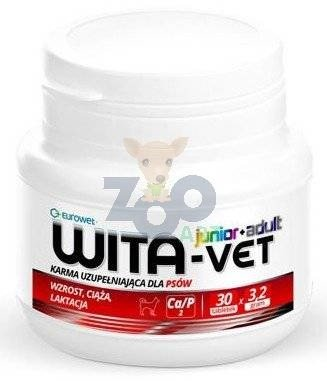 WITA-VET Ca/P = 2, 3,2g Junior+Adult 30 tabletek