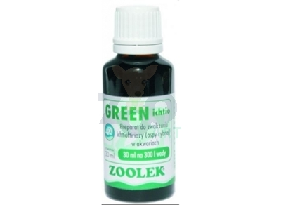 ZOOLEK Green ichtio 30ml (zieleń)