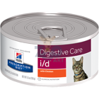 HILL'S PD Prescription Diet Feline i/d 12 x  156g - puszka