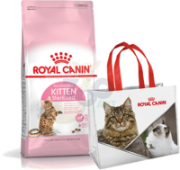 ROYAL CANIN Kitten Sterilised 4kg + Torba zakupowa GRATIS!