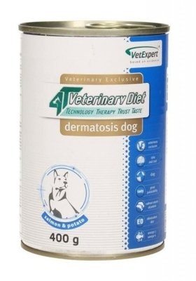 4T Veterinary Diet Dermatosis 400g