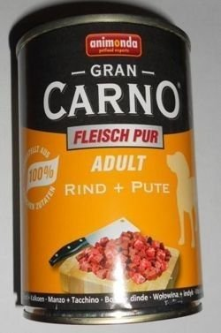 ANIMONDA GranCarno Adult Dog Pakiet Próbny II 6 x 800g