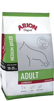ARION Original Adult Medium Breed Lamb & Rice 12kg